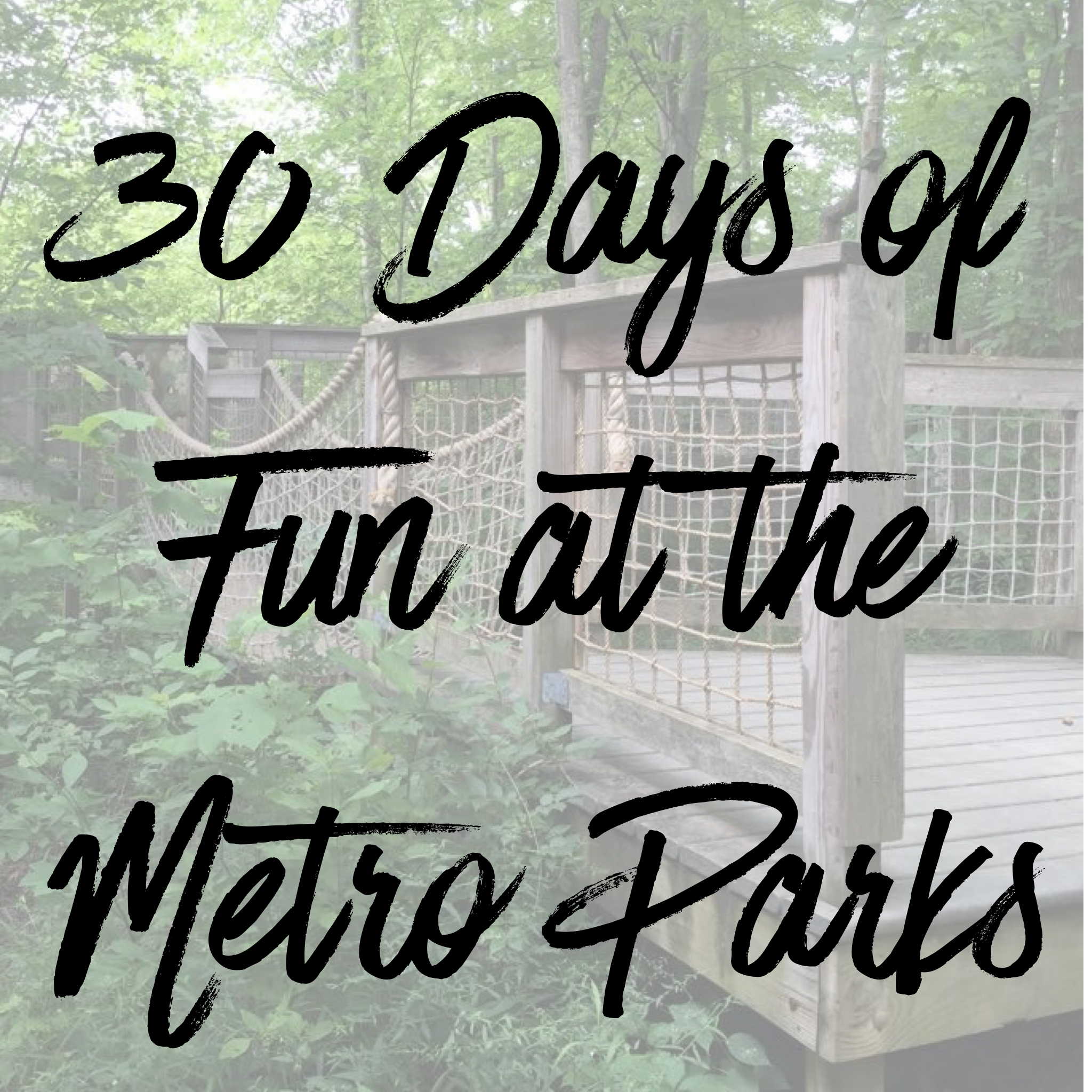 30 Days of Metro Park Fun