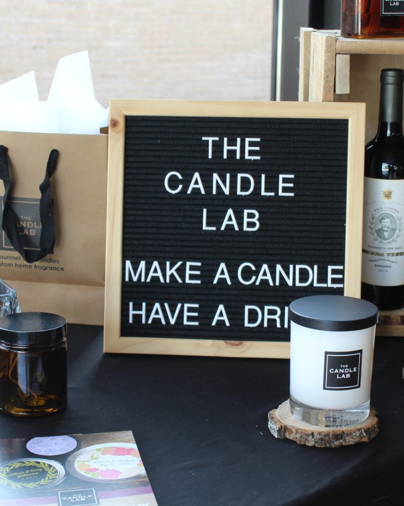 Candle Lab Date Night