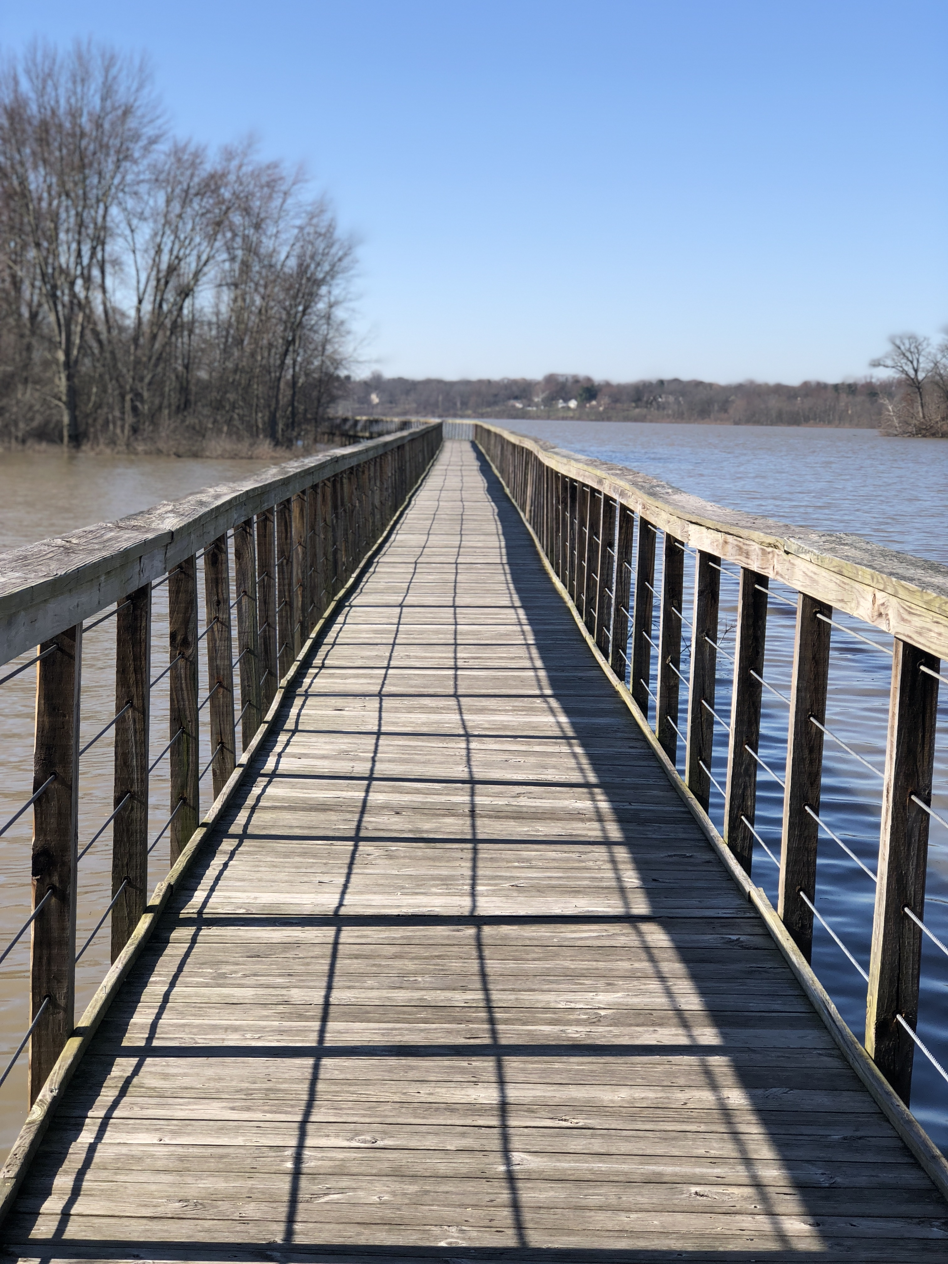 The Hoover Mudflats Boardwalk