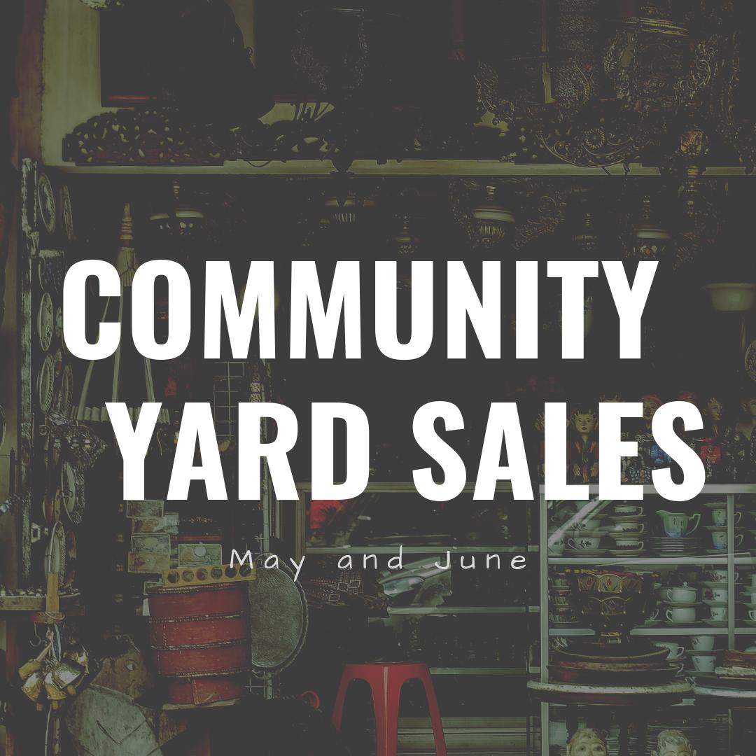 Community Yard Sales - Eat Play CBUS