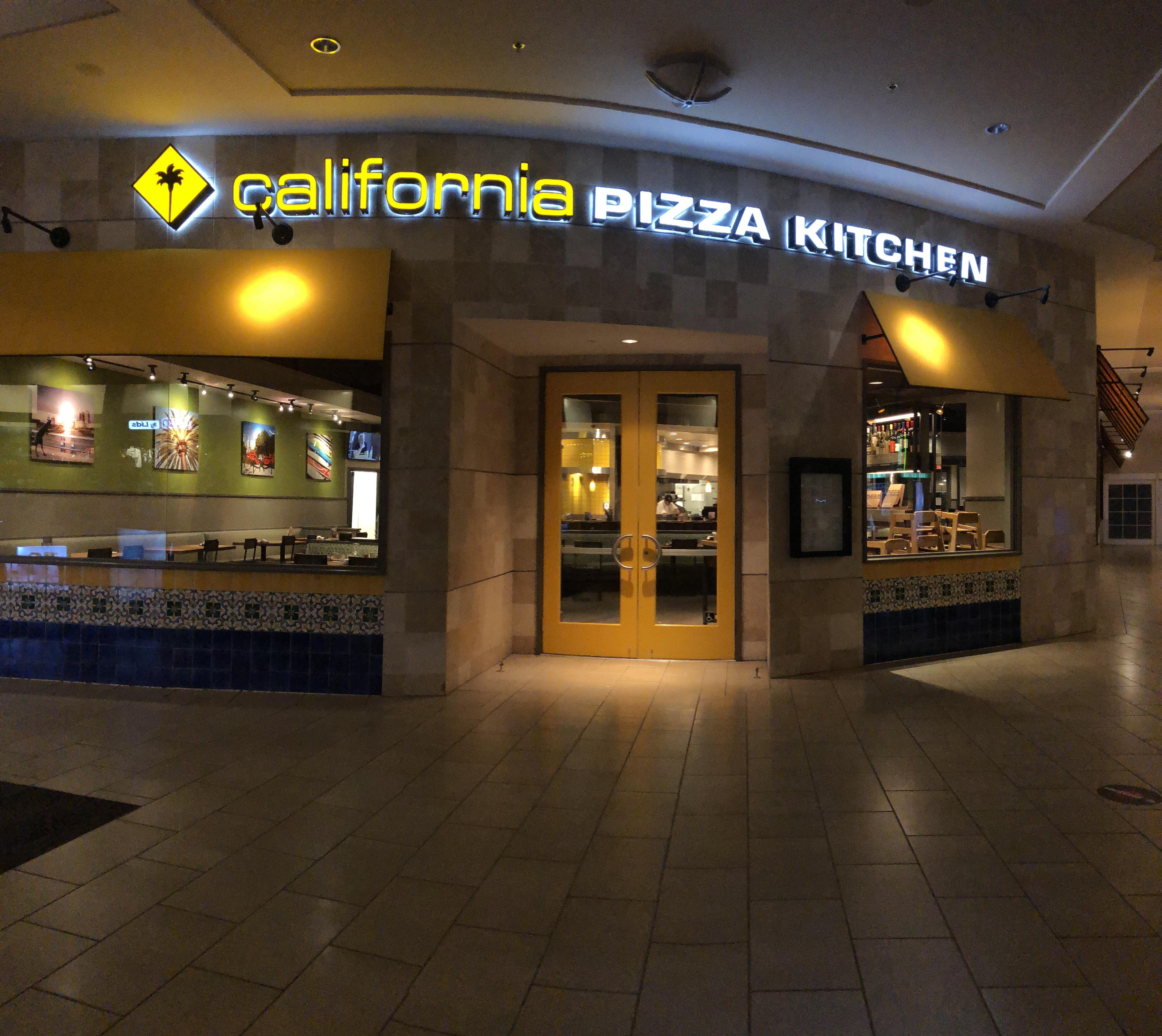 California Pizza Kitchen Fashion Island